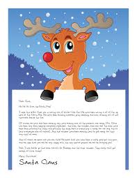 personalized letter from santa easy free letters from santa customize your text and design and
