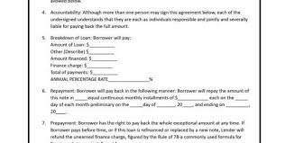 person to person loan agreement 5 loan agreement templates to
