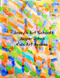 Jasper Johns Map Joseys Art Episode 85 Jasper Johns Alphabet Kids Art