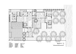 modern home floor plan spectacular modern house with courtyard swimming pool