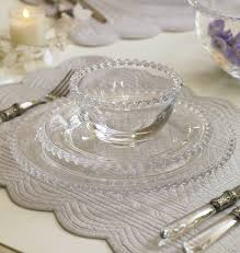 cote table dinnerware france bella perle glass dinnerware collection by dibor