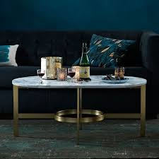 Oval Marble Coffee Table Stone Coffee Tables With Modern Style