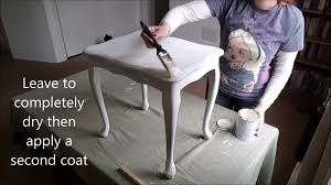diy french shabby chic table makeover in annie sloan chalk paint