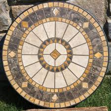 Mosaic Patio Tables Casual Patio Furniture 60 Compass Marble Mosaic Dining 5179 Jpg