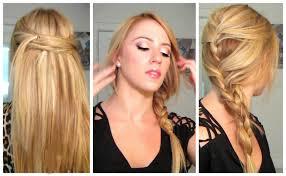 easy quick heat less hairstyles medium hair styles ideas 23405