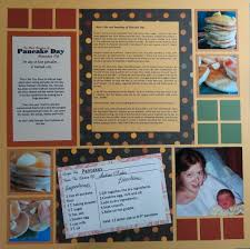 how to scrapbook family traditions