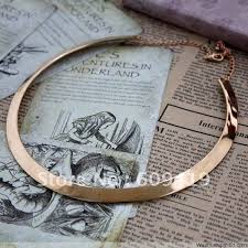 neck ring necklace images New design hot sale brand collar neck ring choker necklace thin 2 jpg