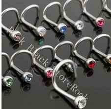 sale nose rings images Hot sale 18g 1 0mm mixing color nose stud nose ring body jewelry jpg