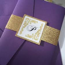 purple and gold wedding invitations camilla vintage wedding invitation suite all that glitters