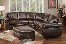 Brown Leather Sectional Sofas With Recliners Sofa Charming Leather Sectional Sofa Design Leather Sectional