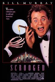 scrooged 1 of 2 extra large movie poster image imp awards