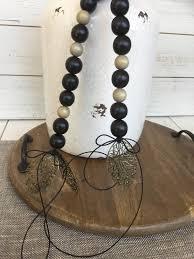 decor bead garland with filigree leaf pendant home decor