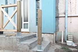 How To Install A Stair Banister How To Build Deck Stair Railings Howtospecialist How To Build