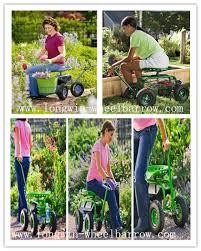 siege de jardinage travail de laminage siège outil plateau pour jardinage paysage