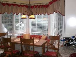 kitchen bay window ideas miscellaneous window treatment ideas for kitchen bay window