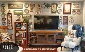 Gallery Home Decor Big Screen Tv Gallery Wall Hometalk