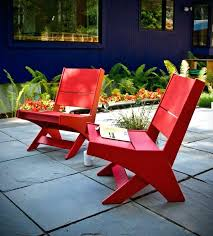 beautiful recycled plastic outdoor furniture for arm chair 96
