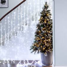 7 ft pre lit led tree rainforest islands ferry