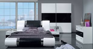 möbel schlafzimmer komplett schlafzimmer kansas hochglanz schwarz weiss