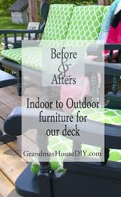 Indoor Outdoor Furniture by Indoor To Outdoor Furniture I Painted Until My Arm Fell Off