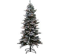 bethlehem lights christmas trees bethlehem lights 6 5 woodland pine christmas tree w instant power