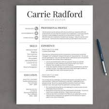 resume template professional 2 professional resume template for word and pages 1 2 and 3 page