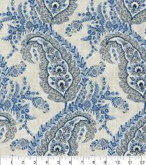 Ellen Degeneres Home Decor Ellen Degeneres La Brea Indigo Upholstery Fabric Joann