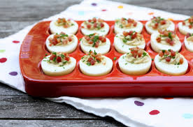 deviled egg tray le creuset egg tray look then cook