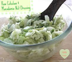 Recipe For Raw Coleslaw Salad With Macadamia Nut Dressing Detox