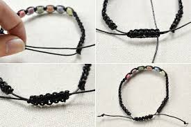 how to make a simple friendship bracelet with letters beads