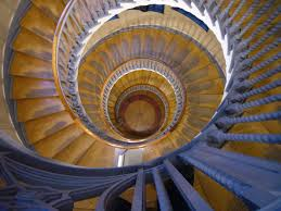 Spiral Staircase by View Down A Spiral Staircase No Cost Royalty Free Stock