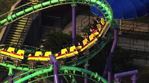 Six Flags Pg County 24 Passengers Stuck On Six Flags Roller Coaster