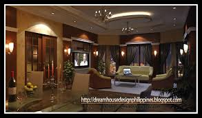 philippine dream house design dining living area