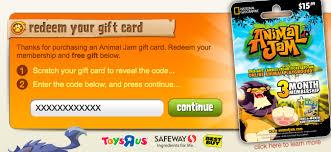 animaljam gift card animal jam flash how to find aj gift cards