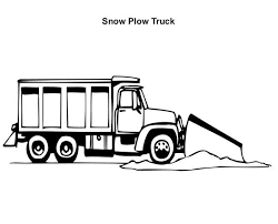 basic dump truck printable colouring page fun colouring