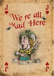 mad hatter tea party invitations printable alice in wonderland giant vintage playing card tea party prop mad