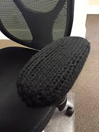 Office Chair Slipcover Pattern Ravelry Office Chair Arm Rest Cover Pattern By Karen O U0027hara
