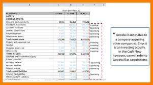 Indirect Flow Statement Excel Template 8 Indirect Flow Statement Excel Template Joblettered