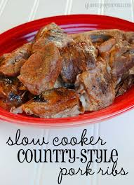 Crock Pot Barbecue Ribs Country Style - best 25 country style pork ribs ideas on pinterest country pork