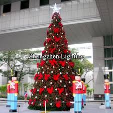 Commercial Outdoor Christmas Tree Ornaments by Christmas Tree Giant Outdoor Commercial Lighted Christmas Tree