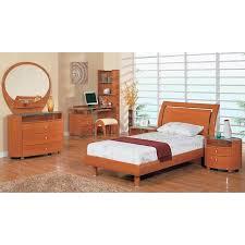 Emily Bedroom Furniture Emily Cherry Platform Bedroom Set Global Furniture