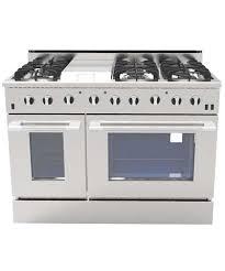 48 Gas Cooktops Nxr Drgb4801 48 Inch Gas Range 6 Burners Griddle Drgb4801