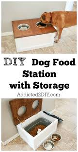 inspiring diy home decor ideas dog food stations food stations