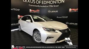 lexus es sedan 2017 white 2017 lexus es 350 executive package review west edmonton