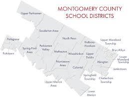 Pennsylvania District Map by Schools U2013 Montgomery County Intermediate Unit