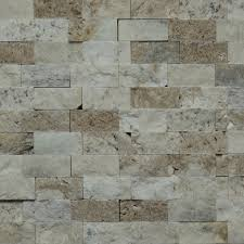 Kitchen Backsplash Mosaic Tile 1 X 2 Split Face Mosaic Tile Autumn Onyx Honed Wall Floor Tile