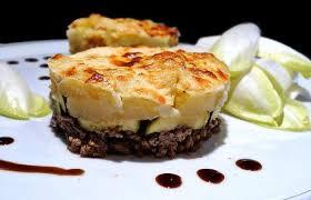 cuisiner steak haché gratin de pommes de terre courgettes et bœuf haché recette dukan