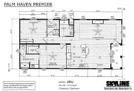 Triple Wide Mobile Homes Floor Plans by Skyline Homes Of San Jacinto