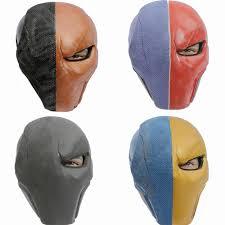 wholesale batman mask deathstroke cosplay full face pvc halloween