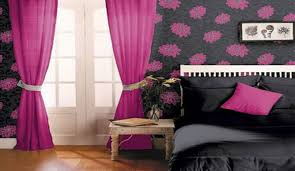 Ruffled Pink Curtains Stunning Photograph Heedful Pink Blinds Horrible Powerfulwords